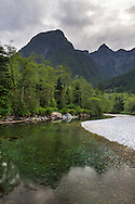 Evans Peak, Blanshard Peak and Gold Creek in Golden Ears Provincial Park in Maple Ridge, British Columbia, Canada