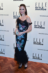 GEORGINA CHAPMAN at the 17th Elle Style Awards 2014 in association with Warehouse held at One Embankment, 8 Victoria Embankment, London on 18th February 2014.