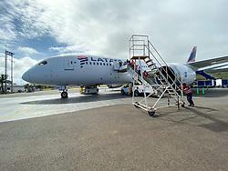 Latam Flight To Santiago From Rapa Nui