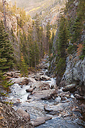 Big Thompson River, Rocky Mountain National Park, Colorado.