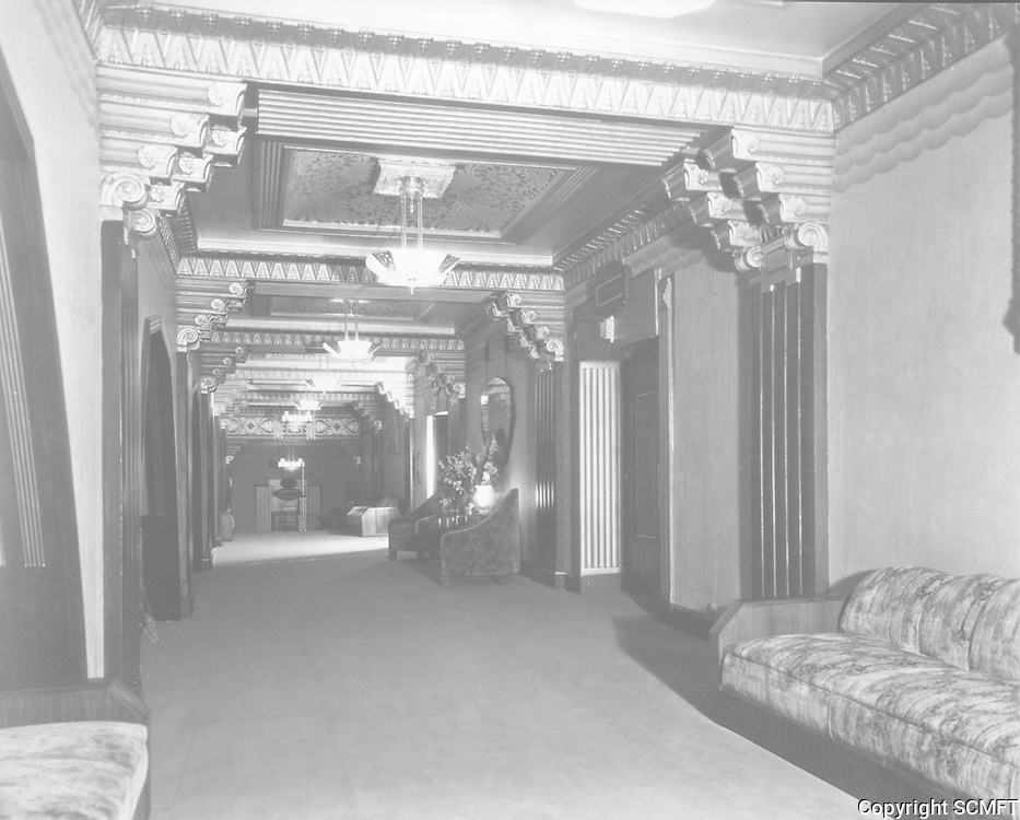1934 Lobby of The Pantages Theater