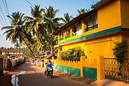 Sidestreets at Agonda Beach, Goa, India