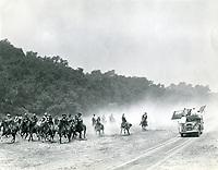 1946 Filming a western at Monogram Studios