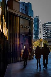 United States, Washington, Bellevue, upscale shopping at The Bravern