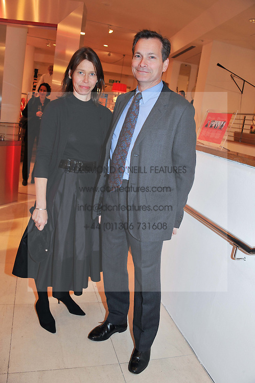 MR DANIEL & LADY SARAH CHATTO at an exhibition at The Conran Shop entitled Red to celebrate 25 years of The Conran Shop at the Michelin Building, 81 Fulham Road, London on 19th September 2012.