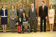 040114 Delivery of the Grand Cross of the Royal Order of Sporting Merit Teresa Fernandez Perales