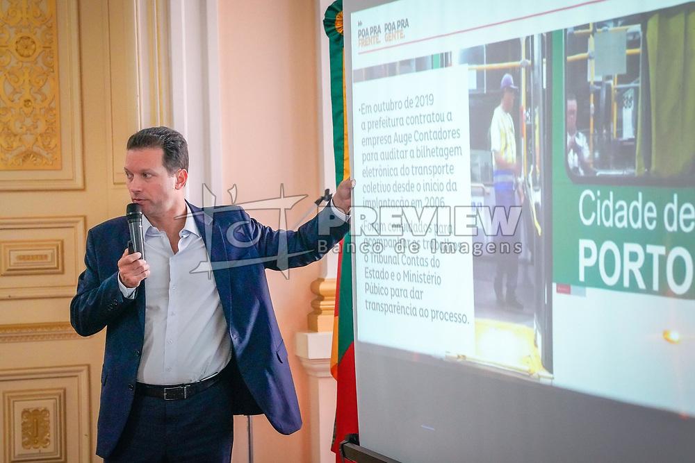 Porto Alegre, RS - 13/02/2020: Prefeito Nelson Marchezan Júnior em reunião com Associação dos Municípios da Região Metropolitana de Porto Alegre (Granpal). Foto: Jefferson Bernardes/PMPA