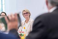 31 MAY 2018, HAMBURG/GERMANY:<br /> Anja Karliczek, CDU, Bundesministerin fuer Bildung und Forschung,, Besuch des Deutschen Elektronen-Synchrotons, DESY<br /> IMAGE: 20180531-01-046