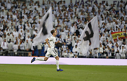 January 24, 2019 - Madrid, Madrid, Spain - Marcos Llorente (Real Madrid) seen in action during the Copa del Rey Round of quarter-final first leg match between Real Madrid CF and Girona FC at the Santiago Bernabeu Stadium in Madrid, Spain. (Credit Image: © Manu Reino/SOPA Images via ZUMA Wire)