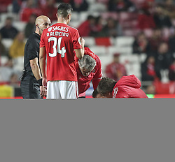 February 7, 2019 - Na - Lisbon, 06/02/2019 - SL Benfica received this evening the Sporting CP in the Stadium of Light, in game the account for the first leg of the Portuguese Cup 2018/19 semi final. Jardel  (Credit Image: © Atlantico Press via ZUMA Wire)