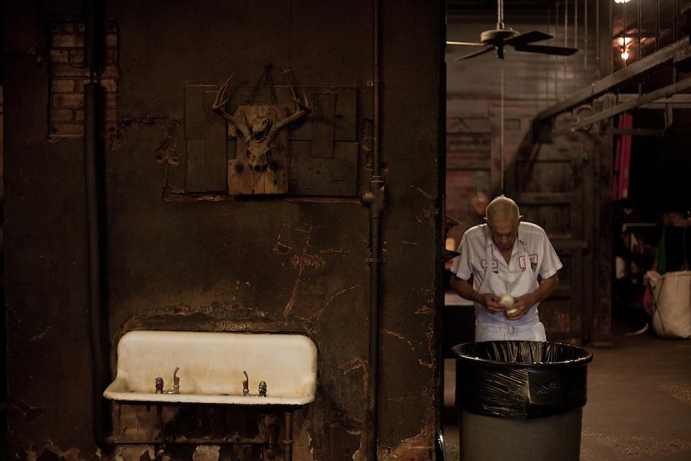 Interior, Smiity's Market, Lockhart, Texas. Photograph ©2009 Darren Carroll