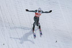 27.02.2021, Oberstdorf, GER, FIS Weltmeisterschaften Ski Nordisch, Oberstdorf 2021, Herren, Skisprung, HS106, Einzelbewerb, im Bild Goldmedaillen Gewinner und Weltmeister Piotr Zyla (POL) // Gold Medalist and World Champion Piotr Zyla of Poland during men ski Jumping HS106 Single Competition of FIS Nordic Ski World Championships 2021. in Oberstdorf, Germany on 2021/02/27. EXPA Pictures © 2021, PhotoCredit: EXPA/ JFK