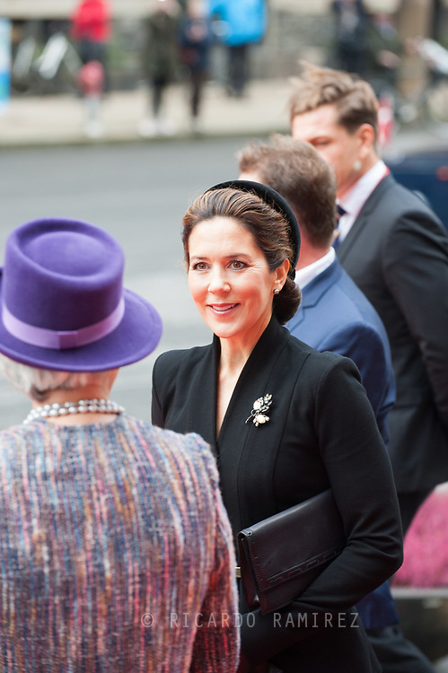 06.10.2020. Copenhagen, Denmark.<br /> Crown Princess Mary's arrival to Christiansborg Palace for attended the opening session of the Danish Parliament (Folketinget).<br /> Photo: © Ricardo Ramirez