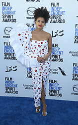 February 8, 2020, Los Angeles, California, United States: 2020 Film Independent Spirit Awards held at Santa Monica Pier..Featuring: Zazie Beetz.Where: Los Angeles, California, United States.When: 08 Feb 2020.Credit: Faye's VisionCover Images (Credit Image: © Cover Images via ZUMA Press)