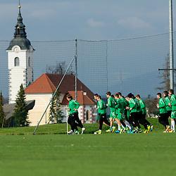 20140110: SLO, Football - Practice session of NK Olimpija Ljubljana
