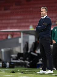 Cheftræner Kasper Hjulmand (Danmark) under UEFA Nations League kampen mellem Danmark og Belgien den 5. september 2020 i Parken, København (Foto: Claus Birch).