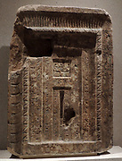False door of Senemut steward of Queen Hatshepsut 18th Dynasty, 1480-1460BC Thebes, Egypt