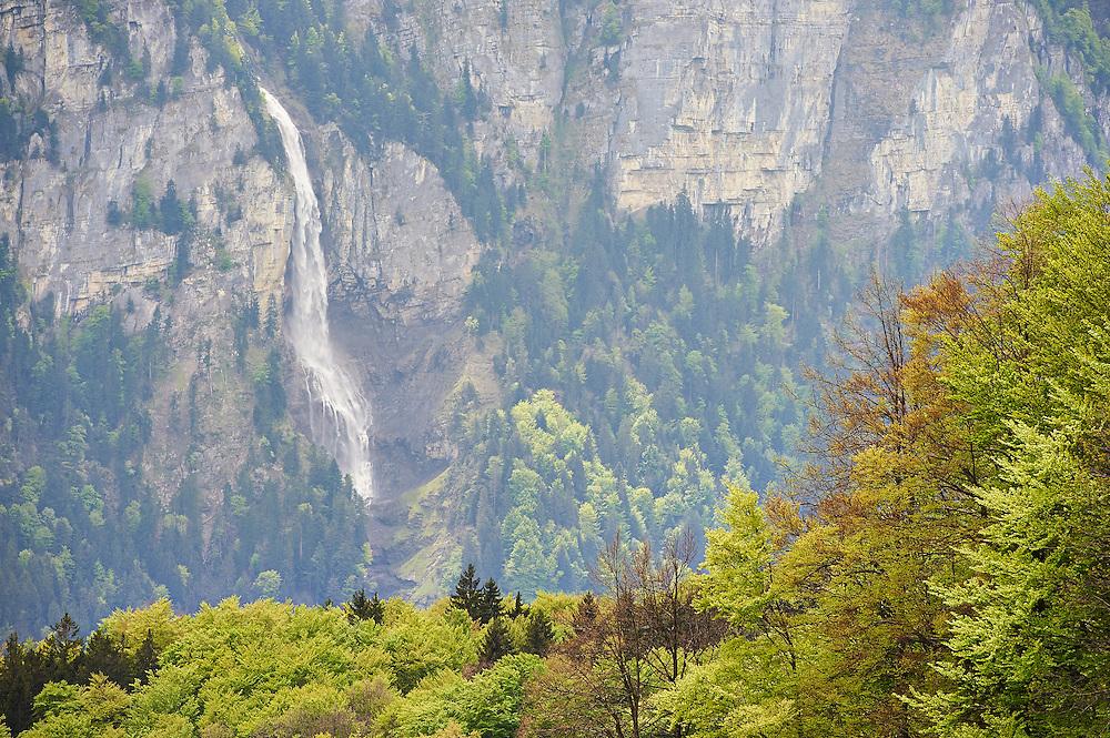 Switzerland - Oltschibach Falls from Panoramastrasse