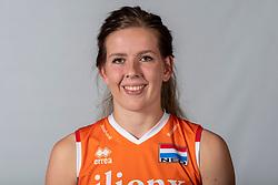 10-05-2018 NED: Team shoot Dutch volleyball team women, Arnhem<br /> Tessa Polder #20 of Netherlands