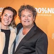 NLD/Amsterdam/20180220 - 100% NL Awards 2018, Dirk Zeelenberg en Suus Schenk