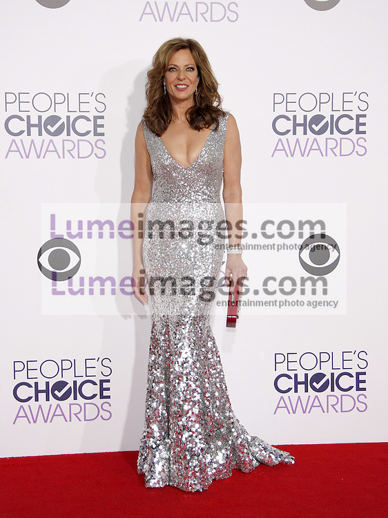 Allison Janney at the 41st Annual People's Choice Awards held at the Nokia L.A. Live Theatre in Los Angeles on January 7, 2015. Credit: Lumeimages.com
