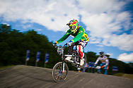 #500 (REZENDE Renato) BRA at the UCI BMX Supercross World Cup in Papendal, Netherlands.