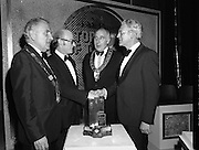 Tops of the Town Final.   (N79)..1981..31.05.1981..05.31.1981..31st May 1981..The John Player sponsored Tops Of The Town competition had its final tonight in the Gaiety Theatre, Dublin.The overall winners were the Limerick Insurances Group.
