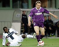 ◊Copyright:<br />GEPA pictures<br />◊Photographer:<br />Norbert Juvan<br />◊Name:<br />Rushfeldt<br />◊Rubric:<br />Sport<br />◊Type:<br />Fussball<br />◊Event:<br />UEFA Cup, Viertelfinale, FK Austria Magna Wien vs Parma FC<br />◊Site:<br />Wien, Austria<br />◊Date:<br />07/04/05<br />◊Description:<br />Ibrahima Camara (Parma), Sigurd Rushfeldt (A. Wien)<br />◊Archive:<br />DCSNJ-0704051308<br />◊RegDate:<br />07.04.2005<br />◊Note:<br />9 MB - TM/TM - Nutzungshinweis: Es gelten unere Allgemeinen Geschaeftsbedingungen (AGB) bzw. Sondervereinbarungen in schriftlicher Form. Die AGB finden Sie auf www.GEPA-pictures.com. Use of pictures only according to written agreements or to our business terms as shown on our website www.GEPA-pictures.com