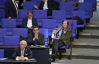 DEU, Deutschland, Germany, Berlin, 25.02.2021: Blick in die Reihen der AfD-Fraktion bei der Plenarsitzung im Deutschen Bundestag. Rechts: Detlev Spangenberg (MdB, AfD)