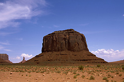 AZ, Monument Valley, scenic, Elephant Butte  .Photo Copyright: Lee Foster, lee@fostertravel.com, www.fostertravel.com, (510) 549-2202.Image: azmonu211