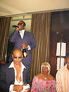 Sean P Diddy Combs, Janice Combs  & Mario Winans.Sean P Diddy Combs celebrates Independence Day & retaining full ownership of his entire Bad Boy Entertainment Empire.Eugene Nightclub.New York, NY, USA.July 02, 2002.Photo By Celebrityvibe.com..