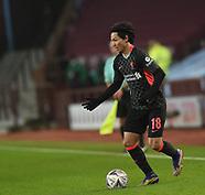 08/01, Aston Villa v Liverpool, Minamino, FA Cup