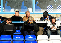 James, Keith and Ed - Photo mandatory by-line: Neil Brookman/JMP - Mobile: 07966 386802 - 22/11/2014 - Sport - Football - Chester - Deva Stadium - Chester v Bristol Rovers - Vanarama Football Conference