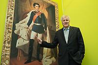 """11 MAY 2012, BERLIN/GERMANY:<br /> Horst Seehofer, CSU, Ministerpraeisdent Bayern, eroeffnet die Ausstellung """"Goetterdaemmerung - Koenig Ludwig II. und seine Zeit"""", Bundesrat<br /> IMAGE: 20120511-02-027"""