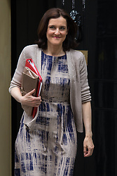 Downing Street, London, May 12th 2015. The all-conservatives Cabinet ministers gather for their first official meeting at Downing Street. PICTURED: Nortern Ireland Secretary Theresa Villiers