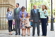 042014 Spanish Royals attend Eastern Mass