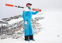 06.10.2015, Moelltaler Gletscher, Flattach, AUT, OeSV Medientag, im Bild Sportlicher Leiter Herren- Alpin Andreas Puelacher // men' s headcoach Andreas Puelacher during the media day of Austria Ski Federation OSV at Moelltaler glacier in Flattach, Austria on 2015 10/05. EXPA Pictures © 2014, PhotoCredit: EXPA/ Johann Groder