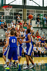 28 June 2014: Daniel Lowe  2014 Boys Illinois Basketball Coaches Association All Start game at the Shirk Center in Bloomington IL