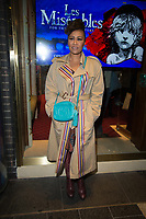 Emilie Sande at the Les Miserables Gala Press Night at the Sondheim Theatre in London's West End.