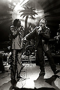 Baaba Maal and Bono and U2  perform at the Island 50 concerts Hammersmith Empire - London 2009