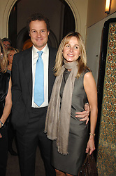 VISCOUNT & VISCOUNTESS ROTHERMERE at a party to celebrate the publication of Top Tips For Girls by Kate Reardon held at Claridge's, Brook Street, London on 28th January 2008.<br />