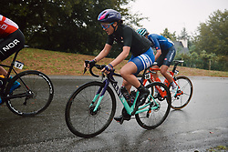 Rotem Gafinovitz (ISR) at the 2020 UEC Road European Championships - Elite Women Road Race, a 109.2 km road race in Plouay, France on August 27, 2020. Photo by Sean Robinson/velofocus.com