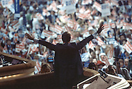 at the Republican Convention in Dallas, Texas  on August 20-23rd in 1984.  Photograph by Dennis Brack  BSB 17