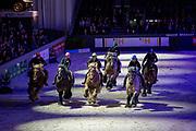 Trekpaardenrace<br /> Indoor Brabant 2017<br /> © DigiShots