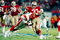 ©2005 TOM DIPACE<br /> ALL RIGHTS RESERVED<br /> 561-968-0600  <br /> Roger Craig SanFrancisco 49ers circ1989 Superbowl XXIII<br />  BY TOM DIPACE©