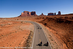 Riding through Monument Valley, AZ. 2006<br /> <br /> Limited Edition Print from an edition of 50. Photo ©2006 Michael Lichter.