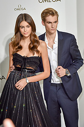 Kaia Gerber and Presley Gerber attend 'Her Time' Omega Photocall as part of the Paris Fashion Week Womenswear Spring/Summer 2018 on September 29, 2017 in Paris, France. 29 Sep 2017 Pictured: Kaia Gerber and Presley Gerber attend 'Her Time' Omega Photocall as part of the Paris Fashion Week Womenswear Spring/Summer 2018 on September 29, 2017 in Paris, France. Photo credit: CPE / MEGA TheMegaAgency.com +1 888 505 6342