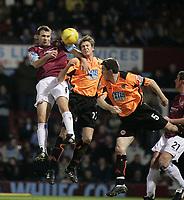 Fotball<br /> England 2004/2005<br /> Foto: SBI/Digitalsport<br /> NORWAY ONLY<br /> <br /> Coca Cola Championship<br /> 03/01/2005<br /> <br /> West Ham v Sheffield United<br /> <br /> Carl Fletcher and Leigh Bromby