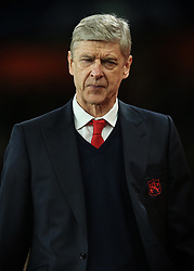 7 March 2017 - UEFA Champions League - (Round of 16) - Arsenal v Bayern Munich - Arsene Wenger manager of Arsenal - Photo: Marc Atkins / Offside.