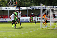 Forest Green Rovers Rhys Murphy (39) heads home a goal, 2-2 during the Vanarama National League match between Dover Athletic and Forest Green Rovers at Crabble Athletic Ground, Dover, United Kingdom on 10 September 2016. Photo by Shane Healey.